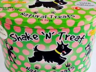 shake 'n' treat blik