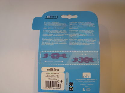 Coockoo swing 35cm label achter