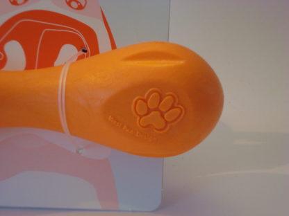 Hurley M oranje detail