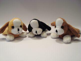 pluche knuffel hondje 13cm
