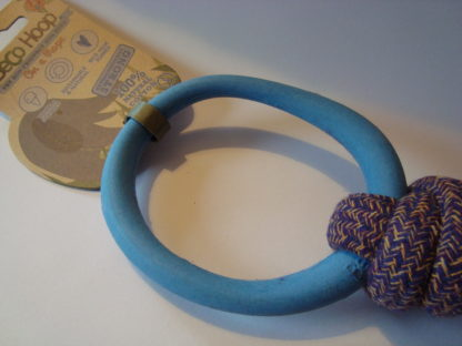 Beco Hoop on a rope blauw detail