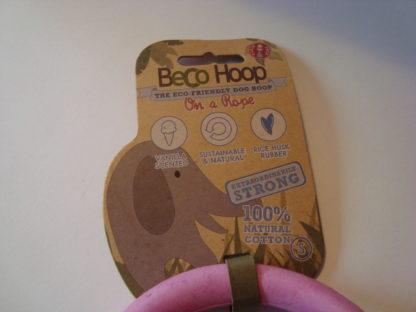 Beco Hoop on a rope etiket voor