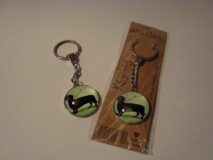 Sleutelhanger dachshund Alex Clark 3.5 verpakking