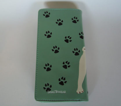 Shagwear portemonnees puglife groen achterkant