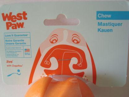 Zogoflex Jive bal speelgoed hond label voor