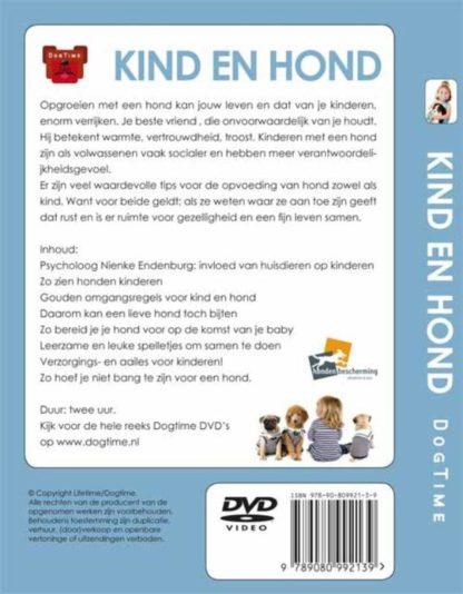 Dvd kind en hond achterkant