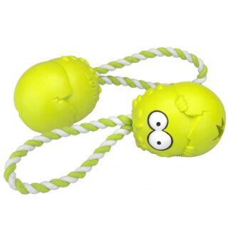 Coockoo Bumpies met touw appel groen